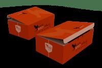 Caixas box bebidas design