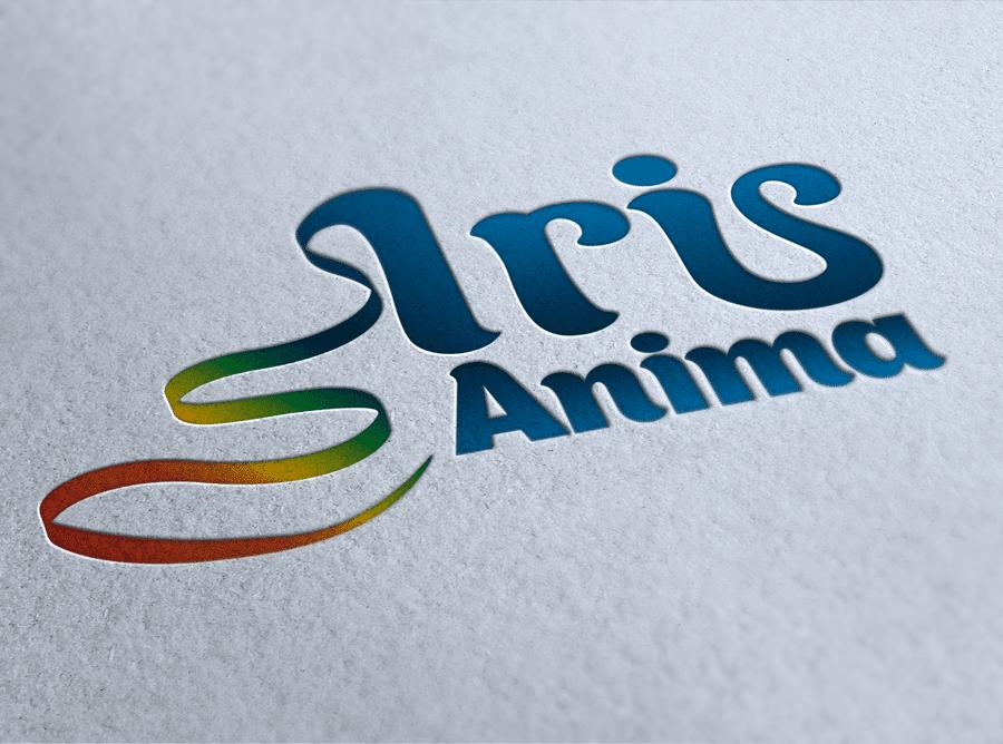 Logo design iris anima