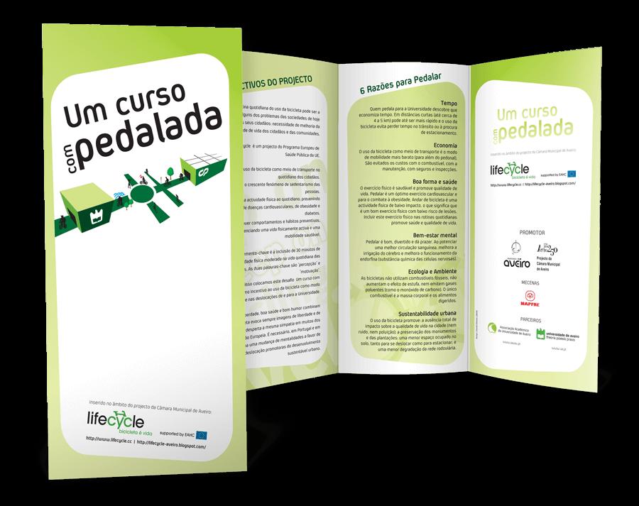 Folheto Triptico Lifecycle