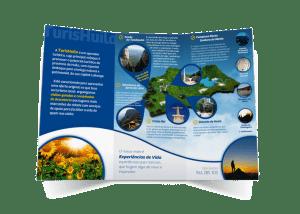 Folheto Triptico Turismo