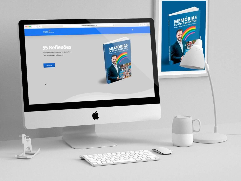 Website Quarentenas Mockup